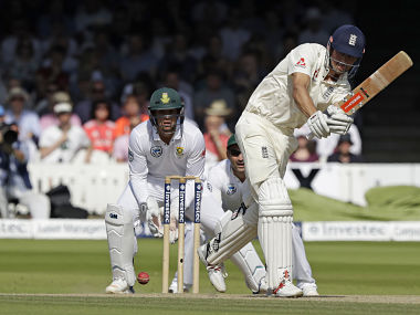 England's Alastair Cook looked in good touch during his second innings fifty. AP