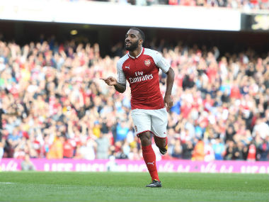 File image of Arsenal's new signing Alexandre Lacazette. Twitter: Image courtesy/ @Arsenal