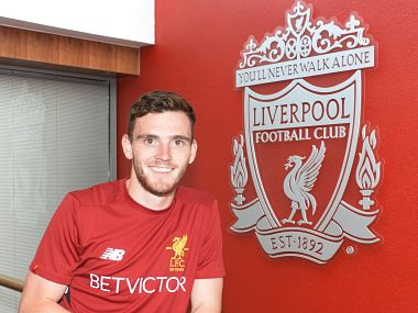 Liverpool's new signing Andy Robertson. Image courtesy: Twitter/ @LFC