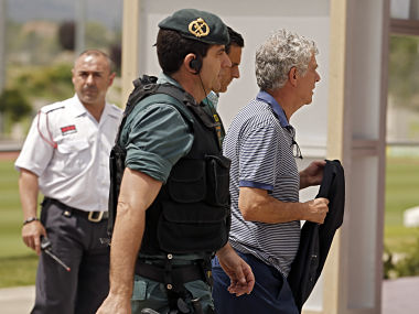 File image of Former President of the Spanish Football Federation Angel Maria Villar. AP