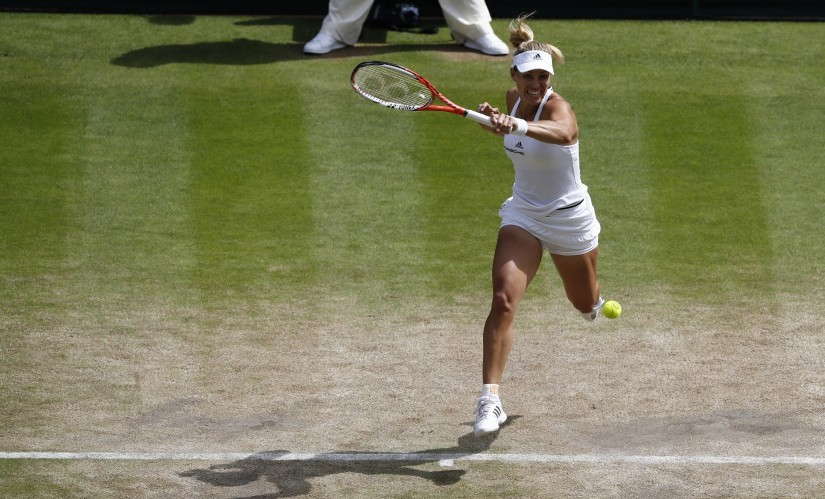 Angelique Kerber reached the Wimbledon finals last year and will need to produce a similar result to hold on to her number one ranking. Reuters