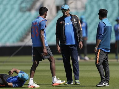Anil Kumble's tenure as India head coach lasted a year, having been appointed in July 2016. AP