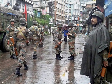 The army has been deployed in Darjeeling. PTI