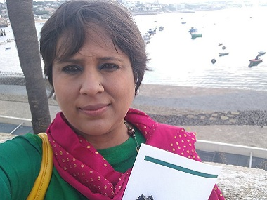 Barkha Dutt argued on Twitter against the concept of period leave. Courtesy: Twitter/@BDutt