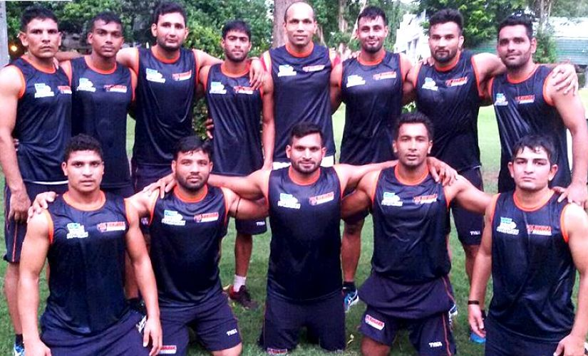 Bengal Warriors have worked tirelessly on their fitness ahead of PKL season 5. Twitter/@BengalWarriors