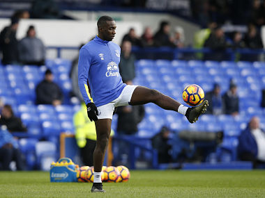 File image of Everton's Yannick Bolasie. Reuters