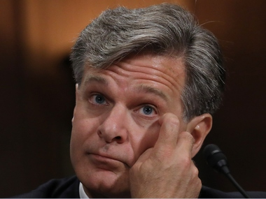 File image of Christopher Wray. Reuters