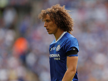 File image of Chelsea's David Luiz. Reuters