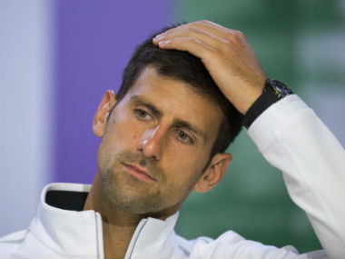 File image of Novak Djokovic . AP