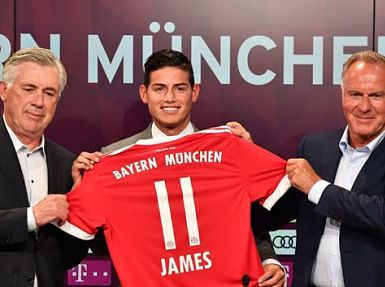 Manager Carlo Ancelotti backs James Rodriguez to shine. Getty Images