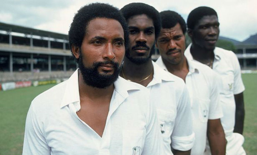 For West Indies bowlers, short-pitched bowling was also a way of asserting their power against white domination. Getty images