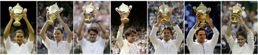 Can he make it 8 Wimbledon titles this year? Reuters