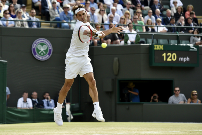 Roger Federer: Defying the laws of physics since 1998. Reuters