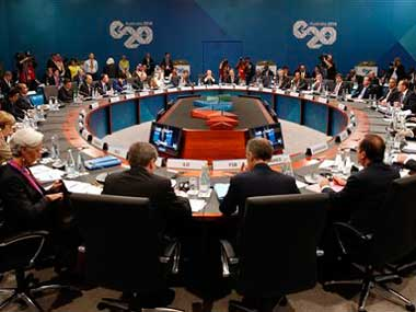 File image of G20 summit in Hamburg, Germany. AP