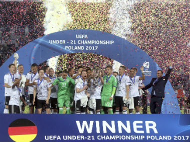 Germany won their second U21 Euro title after beating Spain in the final. AP