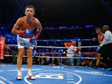 File photo of Gennady Golovkin. Getty Images