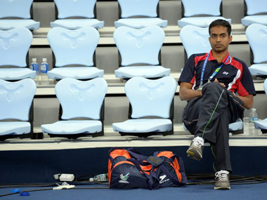 File photo of Pullela Gopichand. AFP