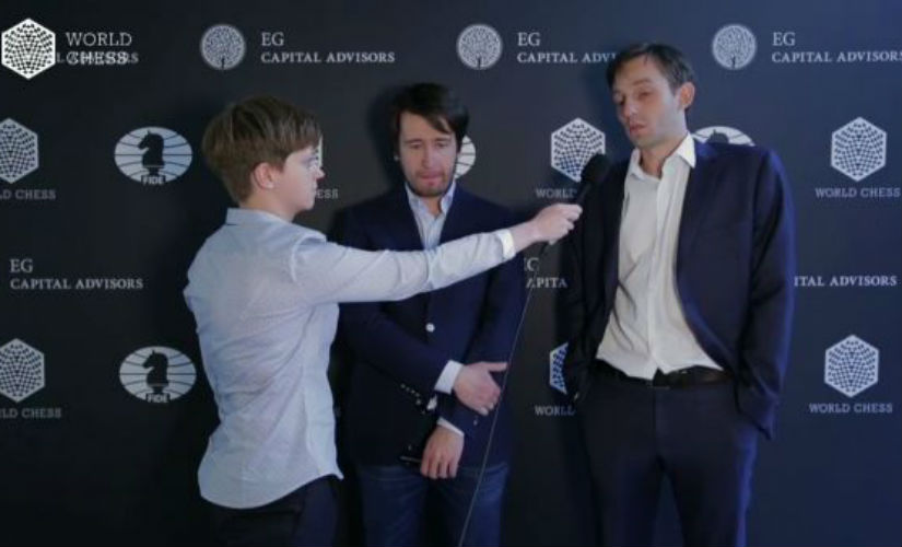 Tournament leaders Alexander Grischuk and Teimur Radjabov faced each other in round six.