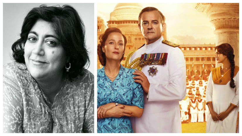 Gurinder Chadha (L); (R) Poster of Viceroy's House aka Partition:1947. Images via Facebook