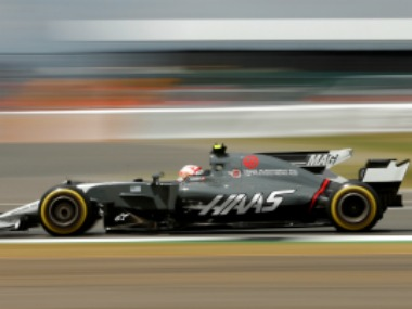 Haas' Kevin Magnussen in action REUTERS