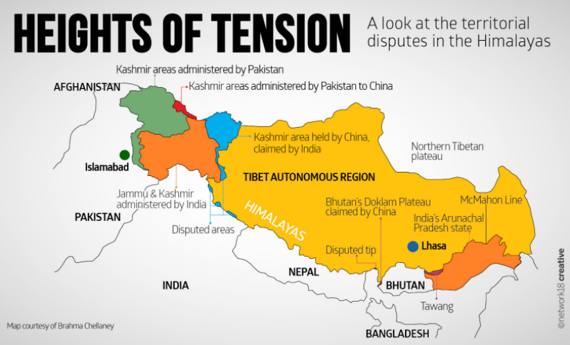 Chinese troops transgress sikkim bhutan tibet tri junction sector in as you can see if the pandora of kashmir is opened tibet is waiting in the wings showing tibet as part of disputed regions is going to touch a lot of raw gumiabroncs Image collections