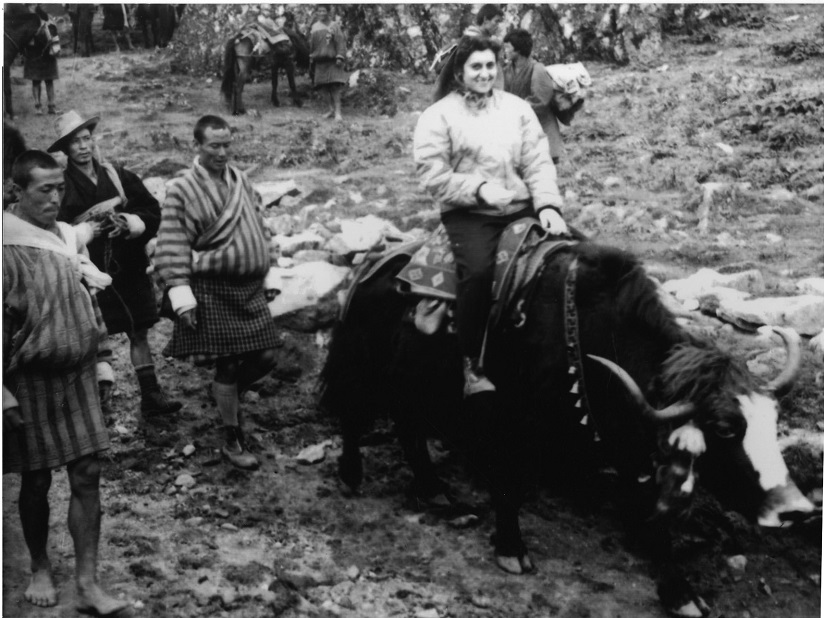 Indira Gandhi on a yak on trip to Bhutan, 1958. All images courtesy 'Indira Gandhi: A Life in Nature' by Jairam Ramesh