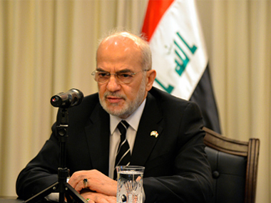 File image of Iraq foreign minister Ibrahim al-Jaafari. Getty Images