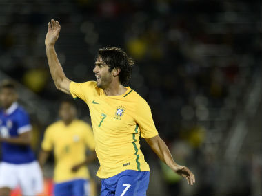 Kaka was part of the 2002 World Cup-winning Brazilian squad. Reuters