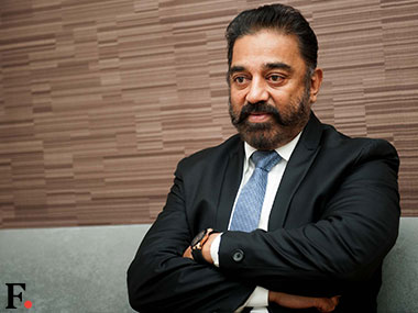 File image of Kamal Haasan. Firstpost/Naresh Sharma