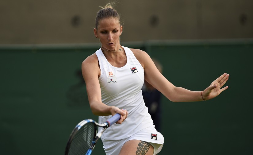 Karolina Pliskova won the grass court at Eastbourne ahead of Wimbledon and is in great form. Reuters