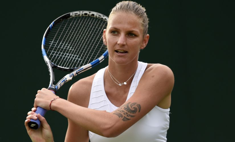 Karolina Pliskova is the bookmakers' favourite to win Wimbledon this year. Reuters