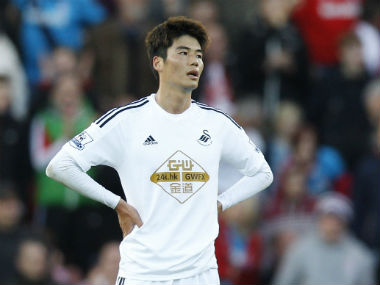 File image of Ki Sung-Yueng. Reuters