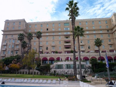 File image of King David Hotel in Jerusalem. Wikimedia Commons