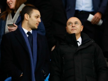 File photo: Tottenham Hotspur chairman Daniel Levy. Reuters