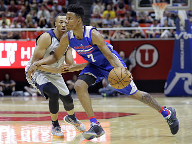 File image of Philadelphia 76ers guard Markelle Fultz. AP