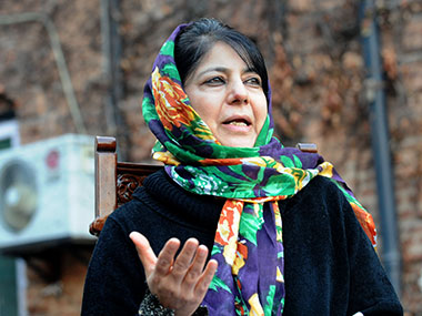 File image of Kashmir chief minister Mehbooba Mufti. AFP