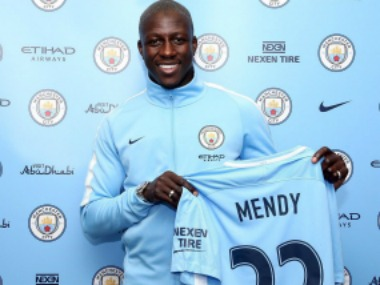 Benjamin Mendy signs a five year contract with Manchester City. twitter.com/@@benmendy23