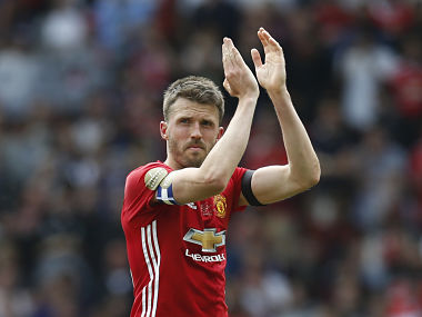 File image of Manchester United captain Michael Carrick. Reuters