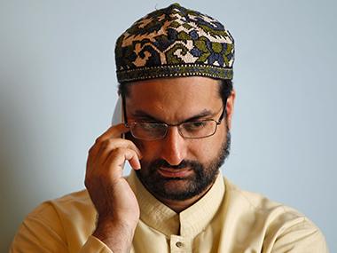 File image of Hurriyat leader Mirwaiz Farooq. Reuters