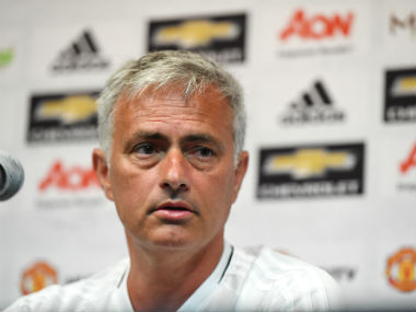 Jose Mourinho says new signing Romelu Lukaku has joined the club at the perfect time. AFP