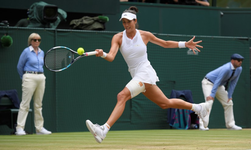 Garbine Muguruza has a booming serve and explosive groundstrokes and has rediscovered some of her best form this fortnight at Wimbledon. Reuters