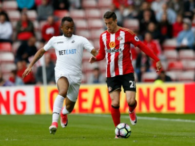 Manquillo had a difficult season at Sunderland. Reuters