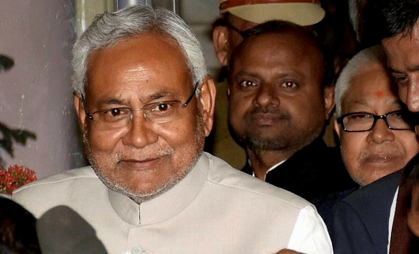 File photo of Nitish Kumar. PTI