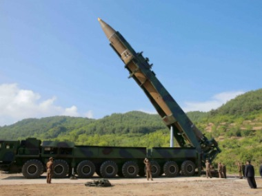 File image of North Korea's missile. Reuters