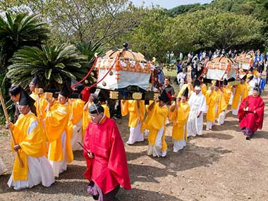 File image of the yearly festival in Okinoshima, Japan. Image courtesy: unesco.org