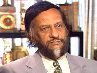 File image of RK Pachauri. Image credit: News18