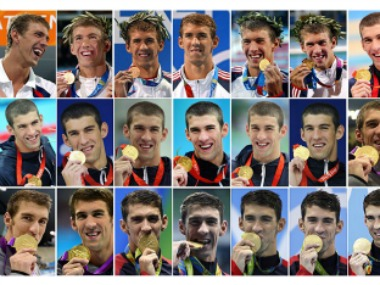 Michael Phelps holds the honour of being the most decorated Olympian in history. Getty Images
