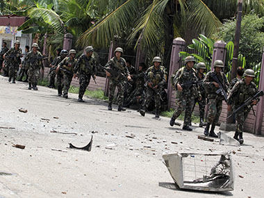 File image of Phillippine rebels. Reuters