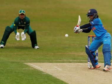 India's Punam Raut in action against . Reuters