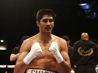 File image of Vijender Singh. Agency